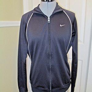 NIke The Athletic Dept Jacket Large Dark Blue Zip